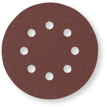 Velcro Disc wood 125 8 hole Top P180